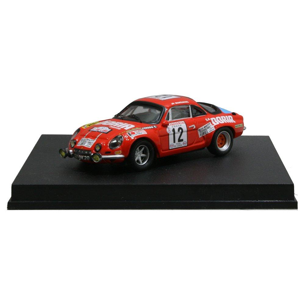 Alpine Renault A110, No.8, Rallye Sanremo, 1971, Modellauto, Fertigmodell, Trofeu 1:43