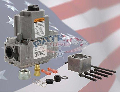 HONEYWELL VR8204M1091 Single Stage, 24 Vac, Standard Opening, Intermittent Pilot Gas Valve. 1/2 x 1/2