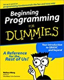 Beginning Programming, Wallace Wang, 0764505963