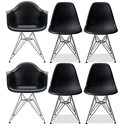 6 Arm Chair Set - 1