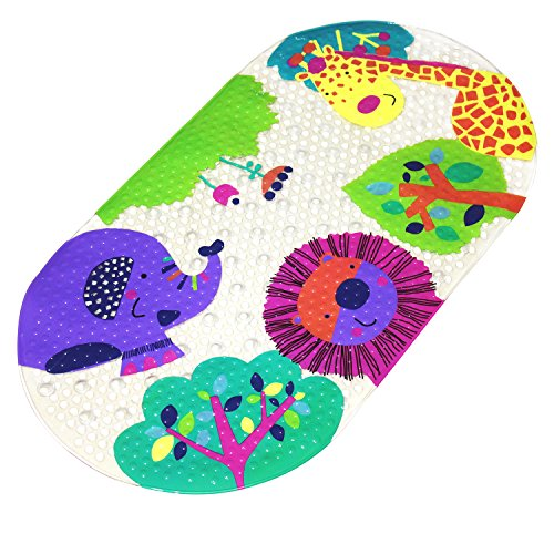 Math Tub - Mocollmax Non-slip Baby Bath Mat Toddler Anti-Bacterial Bathtub Mat, Shower Mat 27