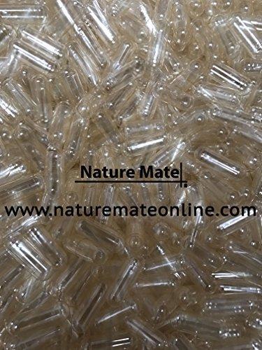 1000 Empty Gelatin Capsule Size 00 – Clear (US Quality)