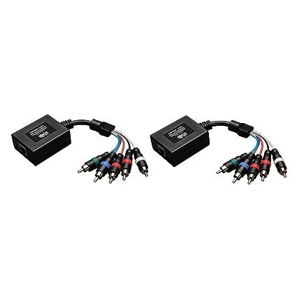 amazon com tripp lite component video with stereo audio over cat5 rh amazon com
