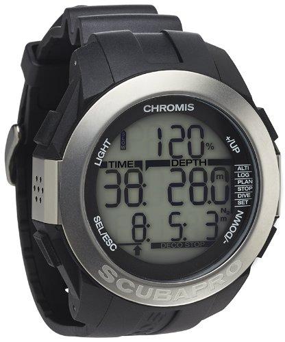Scubapro Chromis Scuba Diving Computer Watch - Black