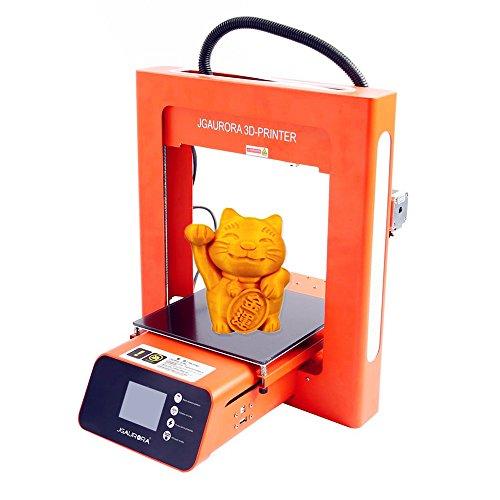JGAURORA 3D Printer Kit A3S Print PLA Filament & Tool Box alf Hour Assembly for Filament Runs Out Detection Resume