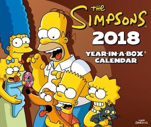 The Simpsons Official 2018 Desk Block Calendar - Page-A-Day Desk Format by Danilo Promotions Limited (Image #4)