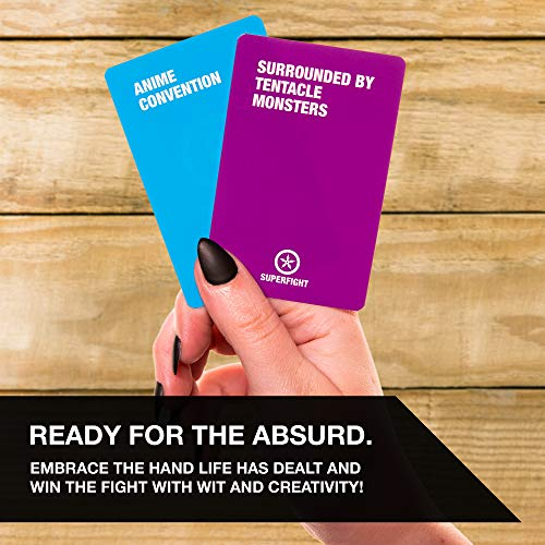 SKY936 Skybound Entertainment SUPERFIGHT The Anime Deck