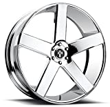6 lug dub rims - DUB Baller 22 Chrome Wheel / Rim 6x5.5 with a 31mm Offset and a 78.1 Hub Bore. Partnumber S115229577+31
