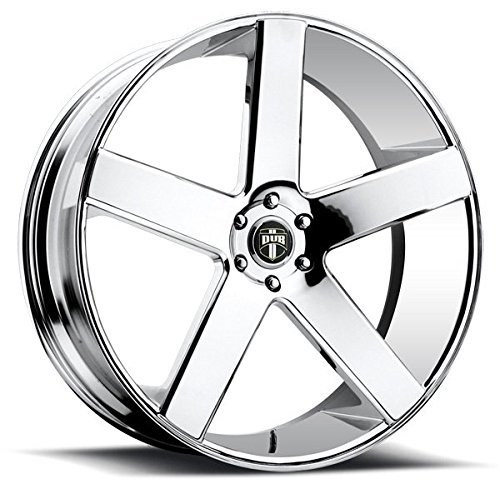 DUB Baller 22 Chrome Wheel / Rim 6x5.5 with a 31mm Offset and a 78.1 Hub Bore. Partnumber S115229577+31 ()