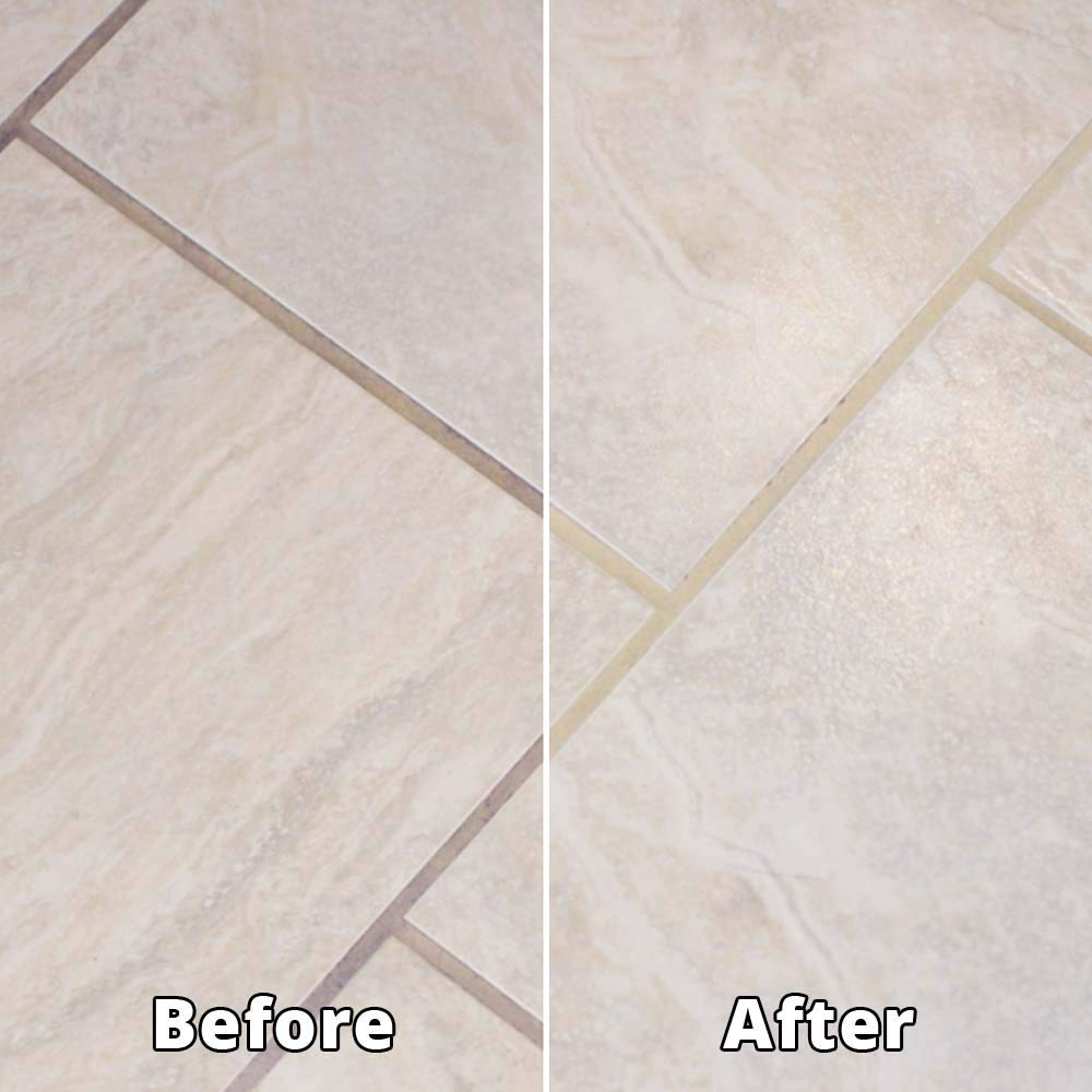 Rejuvenate Grout Deep Cleaner – Safe Non-Toxic Cleaning Formula Instantly  Removes Years of Dirt Build-Up to Restore Grout to The Original Color