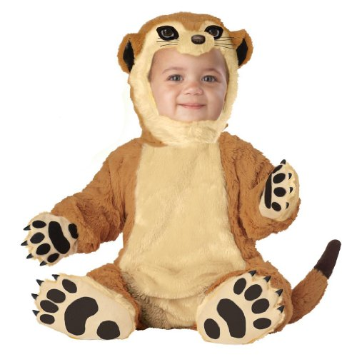 (California Costumes Meerkat Infant Jumpsuit, Brown, 18-24)