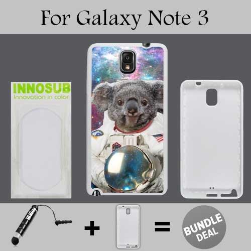 Hipster Astronaut Koala Bear Basic - Funda de plástico para teléfono Celular (Incluye Funda de Almohada), diseño de Osito,...