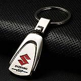 CHAMPLED SUZUKI Emblem Keychain Keyring Logo symbol sign badge personalized custom logotipo Quality Metal Alloy Nice Gift for Man Woman