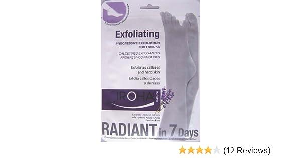 Amazon.com : Iroha Nature Progressive Feet Exfoliating Lavender Treatment Socks : Foot Scrubs : Beauty