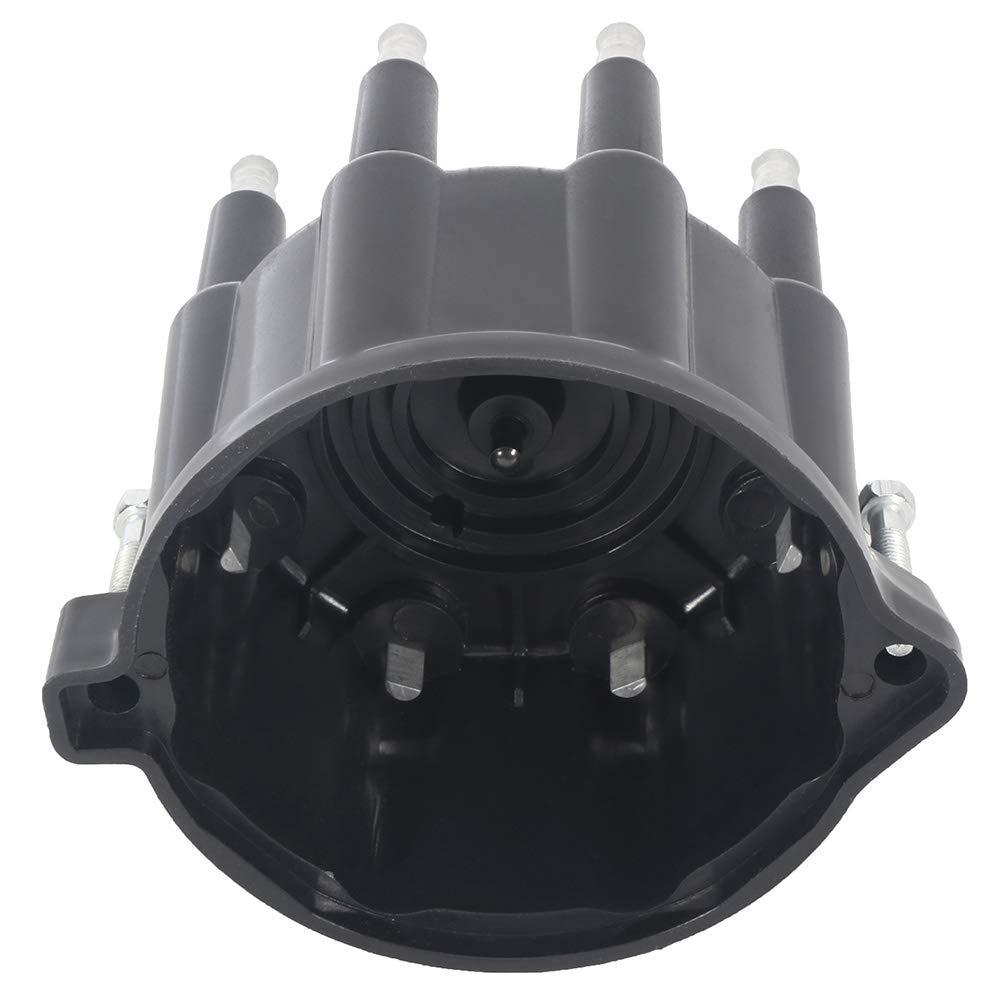 cciyu Ignition Distributor Cap Compatible with CR924 for 1992-2003 Dodge Dakota//Durango//Ram//Ramcharger Jeep Grand Cherokee//Wagoneer