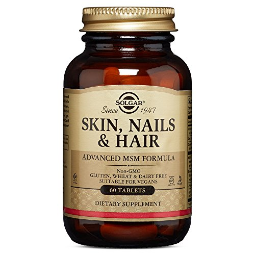 033984017351 - Solgar - Skin Nails & Hair/Advanced Msm Formula, 60 tablets carousel main 0