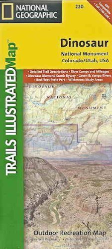 Trails Illustrated Dinosaur National Monument