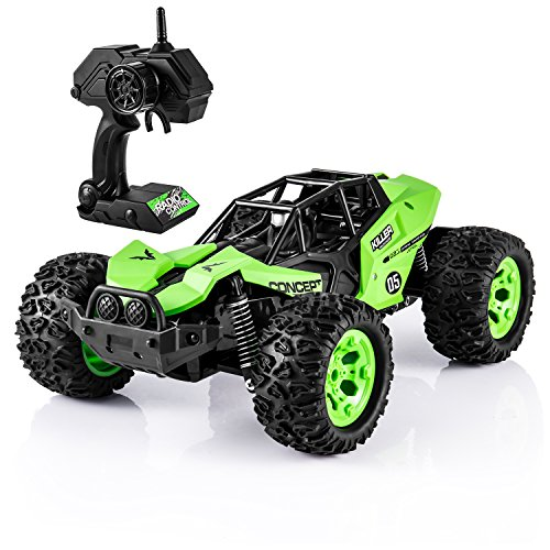 (RC Cars for Kids, 1:12 Remote Control Car High-Speed Off Road Desert Buggy Vehicle 2.4Ghz 2WD Electric Racing Car, Best Toy Car for Kids and Adults (Advanced))