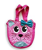 Accessory Innovations Girls' Pink Cat Face Tote Purse
