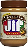 Jif Natural Creamy Peanut Butter Spread - 28 oz