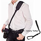 #9: Corelink Camera Strap, Cross-body Rapid Action Quick Release Neck Shoulder Strap for Canon Nikon Sony Cameras