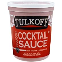Tulkoff Cocktail Sauce, 32 Ounce -- 6 cartons.