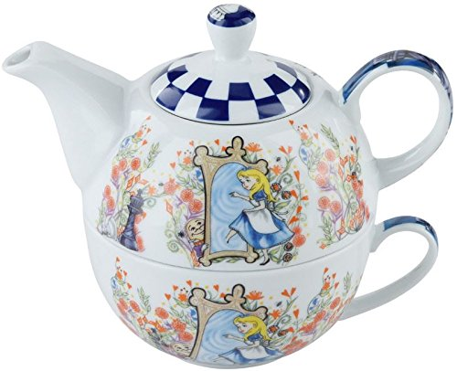 Cardew Alice in Wonderland tea for one teapot & cup Through the Looking Glass Cardew Design