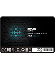 "Silicon Power SSD 256Go 3D NAND A55 SLC Cache Performance Boost 2.5 pouces SATA III 7mm (0.28"") Interne SSD"