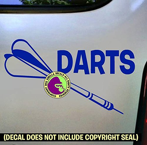 (DARTS Vinyl Decal Sticker E)