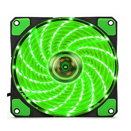 NYWENY 120mm Case Fan Ultra-Silence RGB Fan Portable Clear Fan Cooling Fan Computer Case Heat Sinks DIY Led Lights Durable from NYWENY