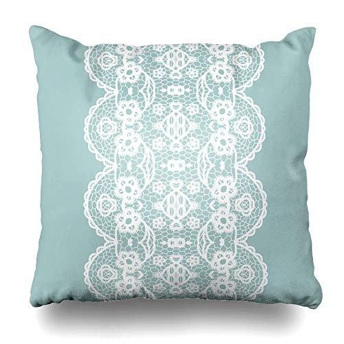 crochet edge pillow cases - 2