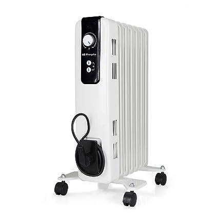 Orbegozo RH 1500 Radiador de Aceite, 1500W de Potencia, 7 Elementos y diseño en