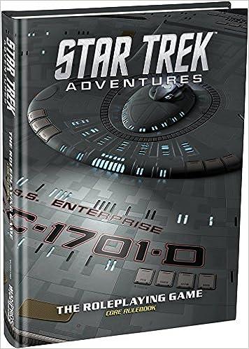 Star Trek Adventures Core Rulebook RPG NEW