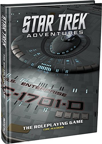 Modiphius Entertainment Star Trek Adventures Core Rulebook Collector's Edition Role Playing Game by Modiphius Entertainment