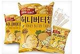 #8: 3 Pcs Honey Butter Chip New Korea Potato Snack (60g X 3)