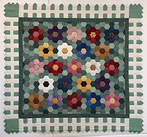 Quilted Grandmothers Flower Garden 39