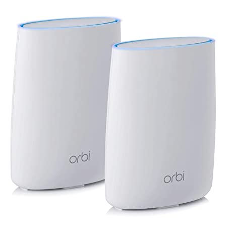 NETGEAR Orbi Ultra-Performance Whole Home Mesh WiFi System - WiFi router  and single satellite extender with speeds up to 3Gbps over 5,000 sq  feet,