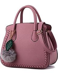 MSXUAN Fashion Leather PU Handbags Classic Shoulder Bag For Women