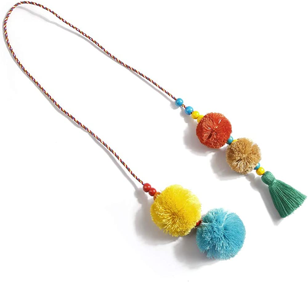 Colorful key rings Tassel Decorations for Handbags Attractive Handmade Personalized Bag Charm Key chain Women Pom Pom