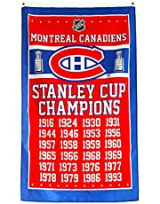 NHL Toronto Maple Leafs 13 Stanley Cup Champions Banner Flag 3-Foot by 5-Foot