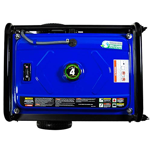 DuroMax XP5500EH 5,500 Watt 7.5 HP Portable Electric Start Dual Fuel Gas/Propane Generator by DuroMax (Image #10)
