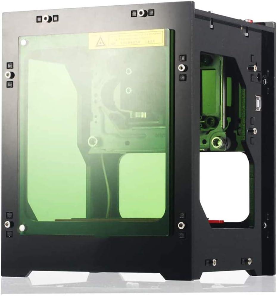 Cestbon Máquina de Grabado láser, 1.500 MW Pequeño automáticas del Plotter Ordenadores portátiles máquina de Marcado,Negro: Amazon.es: Hogar