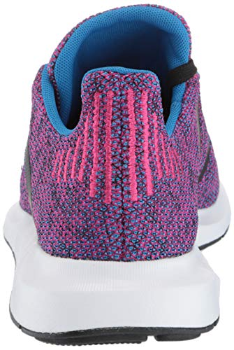 adidas Originals Baby Swift Running Shoe Real Magenta Black, 10K M US Toddler by adidas Originals (Image #2)