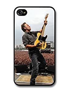 Accessories Bruce Springsteen Concert Live Yellow Guitar case For Samsung Galaxy S6 Case Cover A5617