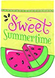 Cheap Carson Home Accents Flagtrends Large Double Applique Garden Flag, Sweet Summertime