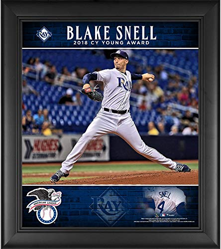 Blake Snell Tampa Bay Rays Framed 15