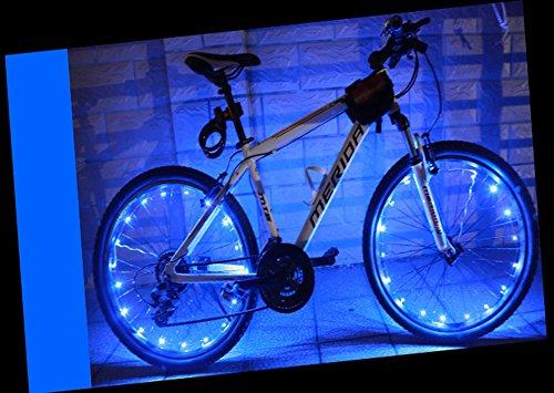 YYGIFT® LED Wasserdichte Fahrradreifen Fahrrad Rad Led Speichen ...