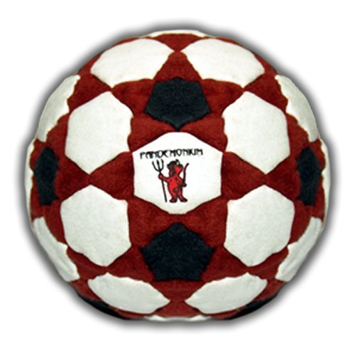 Pyro Footbag 122 Panels Hacky Sack Bag Pellets & Iron Weighted At 2.1 Onces Footbagnet.com 016