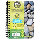 """Onyx and Blue Corporation 4"""" X 6"""" Stone Paper Notebook"""