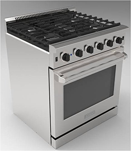 30' Convection Gas Range - Thor Kitchen 30